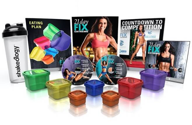 21 Day Fix Extreme DVD Package