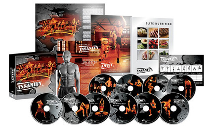 Insanity Workout DVD Package