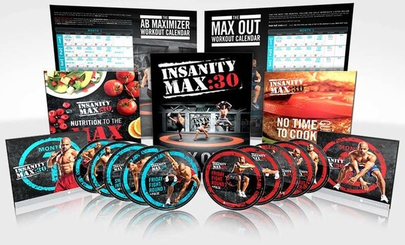 Insanity Max 30 Workout Digital Package