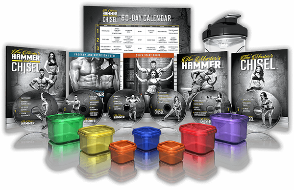 The Master's Hammer & Chisel Workout DVD Package