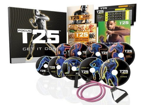 Focus T25 Workout Digital Package